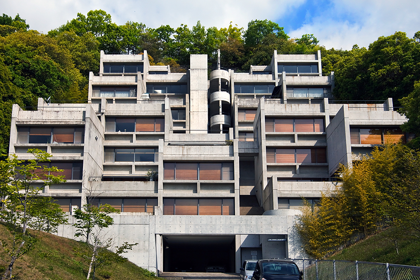Tadao Ando-Designed Rental Home in Rokko