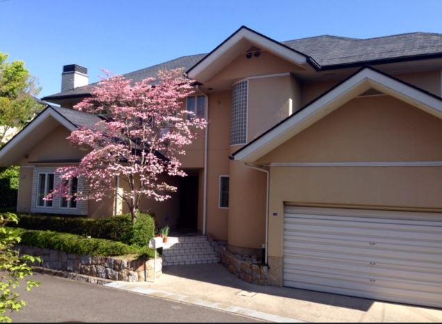 Western Style Housing in Onohara Hills, an International neighborhood