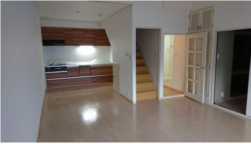 3SLDK duplex apartment in Port Island, Kobe