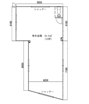 Office/Shop property in famous cafe heaven Okamoto