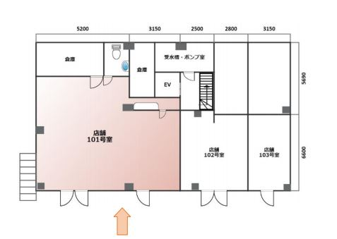 [RENTED]Shop/Office property in Kitano on the street of former foreign trader's houses