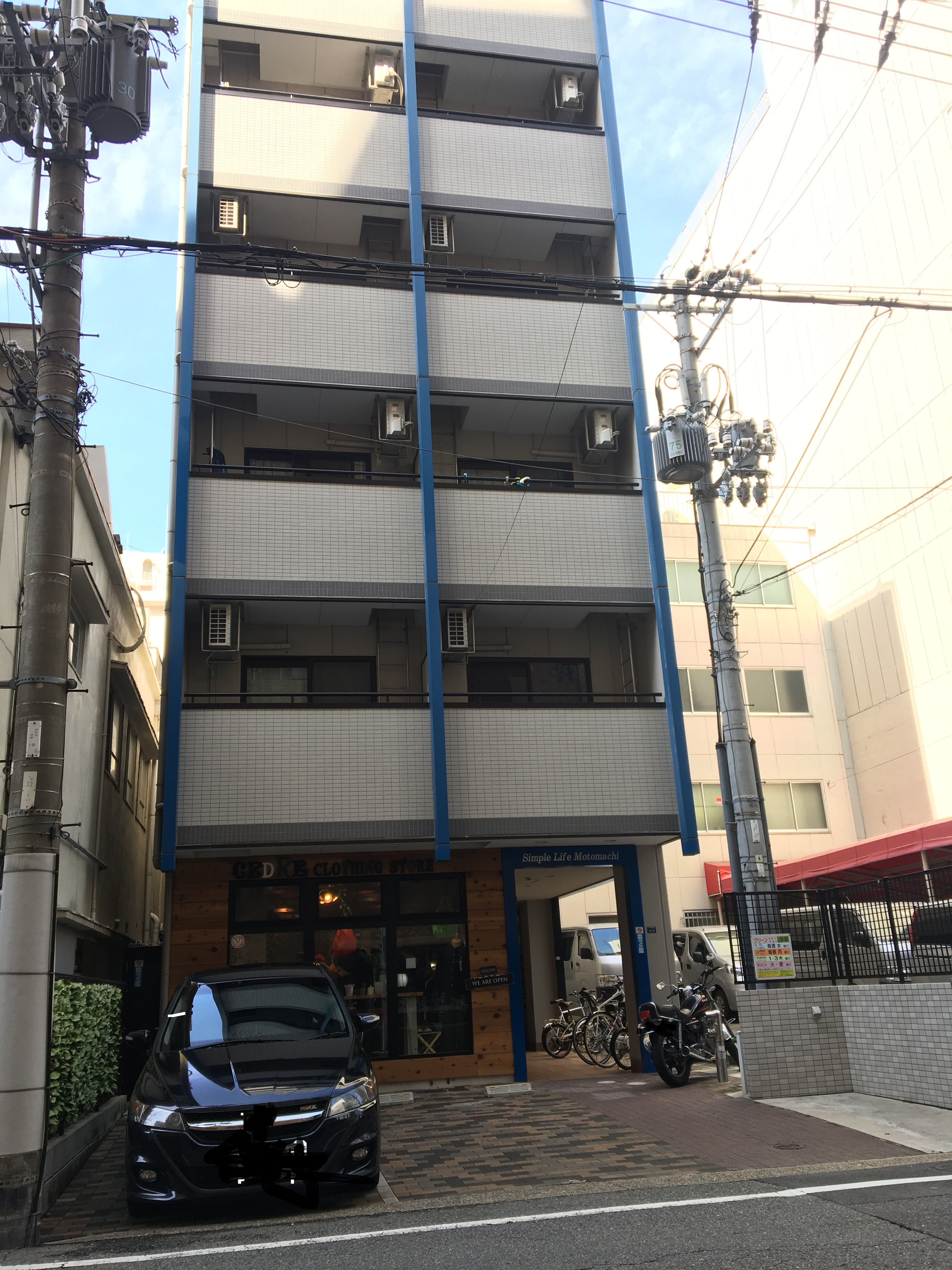 <RENTED>Free Wi-Fi! Studio apartment right in the heart of the Kobe Motomachi