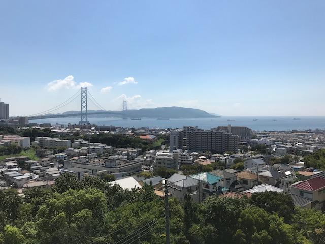 Land on the Maiko zaka Hill over looking Spectacular View of the Bridge – Tarumi Kobe